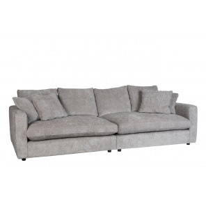 SENSE - Light grey sofa by Zuiver
