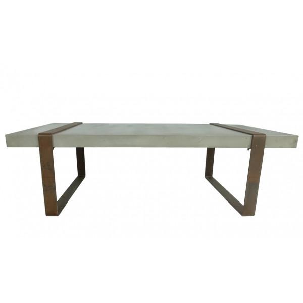 BETON - Massive concrete and iron table