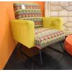 Green armchair Arizona