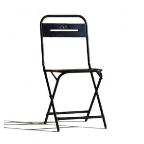 Chaise pliable acier steel