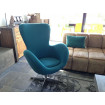 Fauteuil Cocoon turquoise