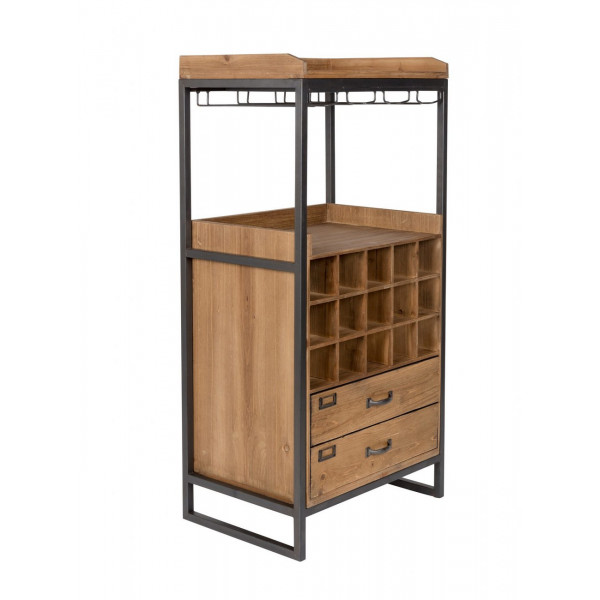 Wine bar chest