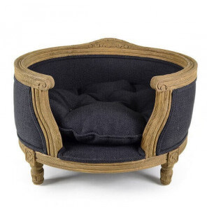 Louis XVI style pet bed S