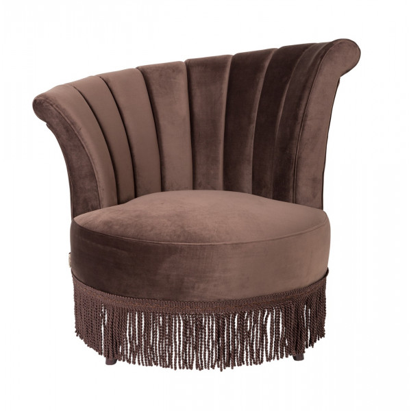 Fauteuil Flair marron