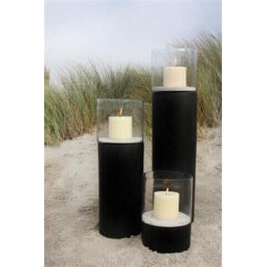 ROCKSTONE - Candle holder black
