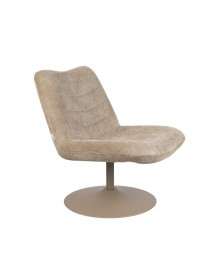 BUBBA - Fauteuil lounge Zuiver Beige