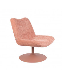 BUBBA - Zuiver Lounge chair pink