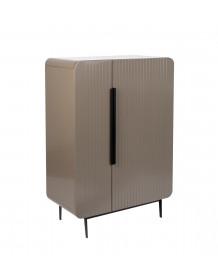 LEWIS - Meuble rangement bois marron