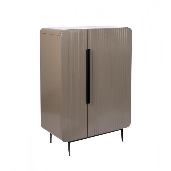 LEWIS - Brown wood sideboard