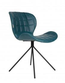 Chaise design OMG bleue