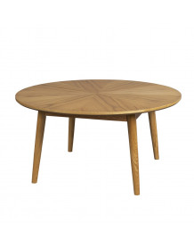 VENISE - Natural wood coffee table
