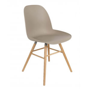 Beige Dining chair Zuiver