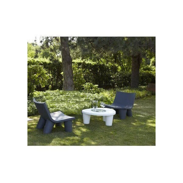 SLIDE: Salon de jardin design Low Lita, prix import