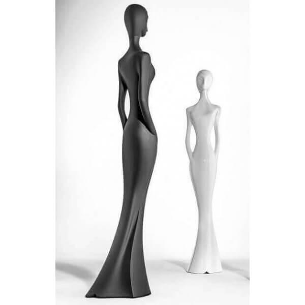 Myyour statue geante design penelope noir - Statue decoration interieur ...