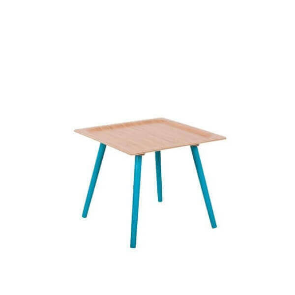 Table d 39 appoint pop design en bambou cologique et au for Petite table d appoint exterieur