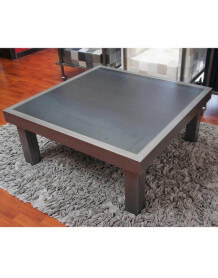 Table basse Duo acier