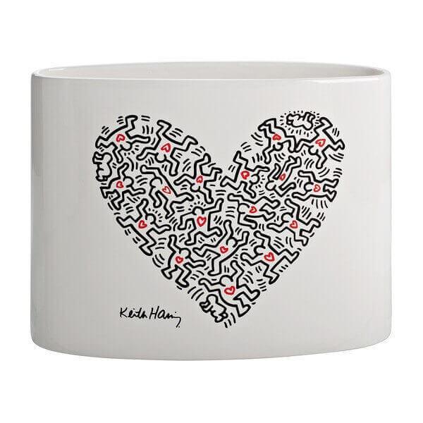 Vase Heart Keith haring 172