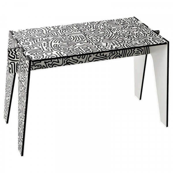 Table basse d'appoint Keith Haring