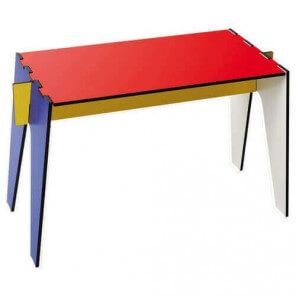 Table basse d'appoint design Mondrian 1734