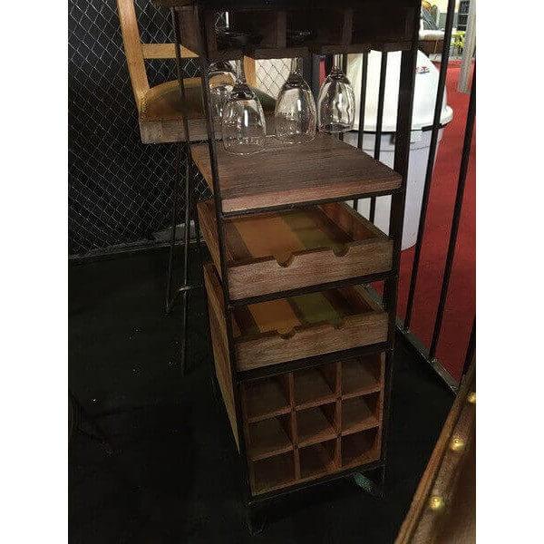 best table haute dgustation with mange debout avec rangement. Black Bedroom Furniture Sets. Home Design Ideas