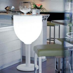 Wine luminous table