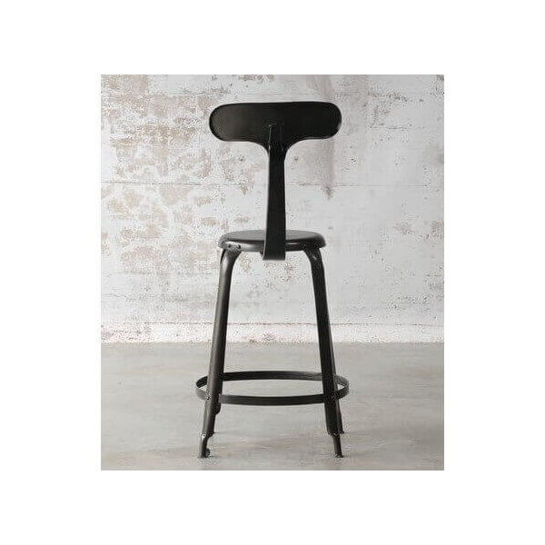 tabouret de bar industriel baleine. Black Bedroom Furniture Sets. Home Design Ideas