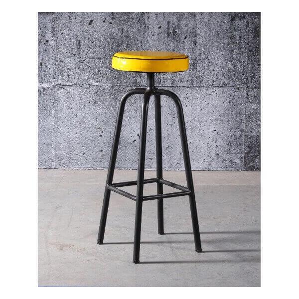 tabouret de bar fifties r tro vintage. Black Bedroom Furniture Sets. Home Design Ideas