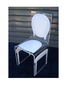 Transparent chair by Aitali