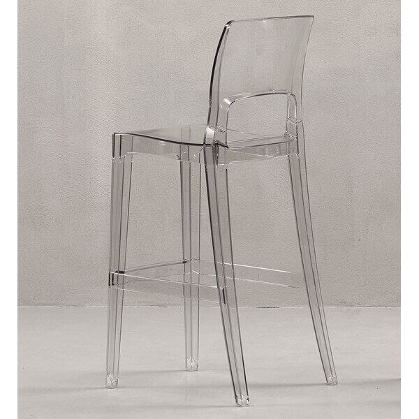 tabouret transparent easy 2164 - Chaise Haute Transparente