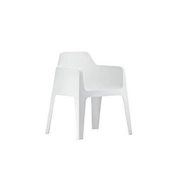 Fauteuil de table pedrali chaise d 39 exterieur empilable for Chaise fauteuil de table