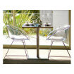 Chaise Gliss Pedrali transparent 264