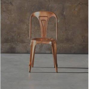 COPPER MULTIPL'S - copper finish chair
