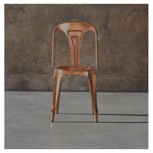 COPPER MULTIPL'S - copper finish chair