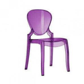 QUEEN - Outdoor design chair by Pedrali
