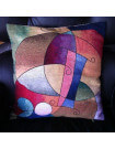Art deco cushion