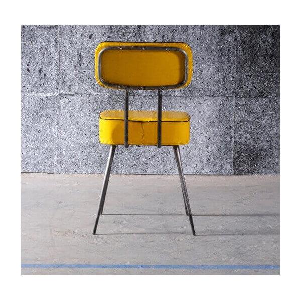 chaise vinyl manufactori mobilier retro fifties des ann es 50 style route 66 usa. Black Bedroom Furniture Sets. Home Design Ideas