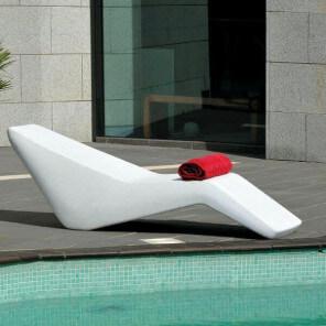 Chaise longue Wave 380