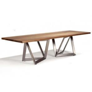 Table repas Origami Inox 4288
