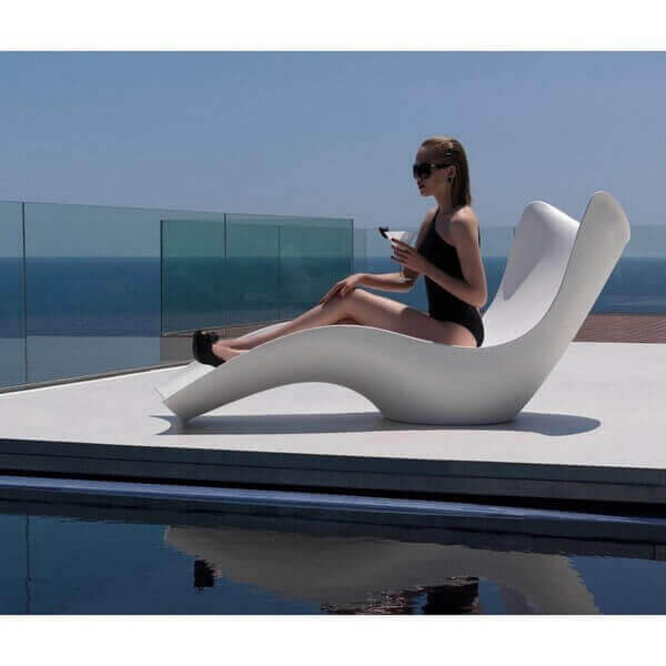 SURF - Outdoor Lounge chair by Vondom