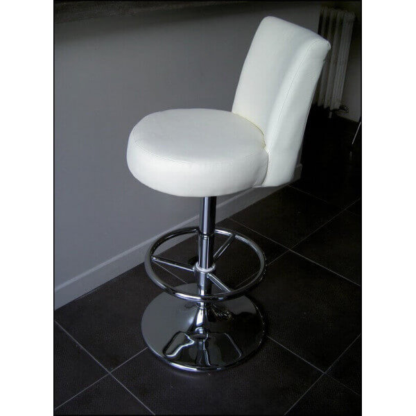 Tabouret confort simili cuir - Tabouret bar confortable ...