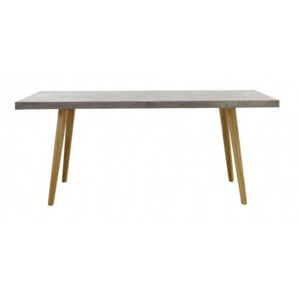 Table repas bétonbois 180 cm
