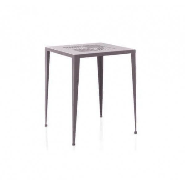 Table metal coffee pour jardin d 39 exterieur mobilier pro for Table metal exterieur