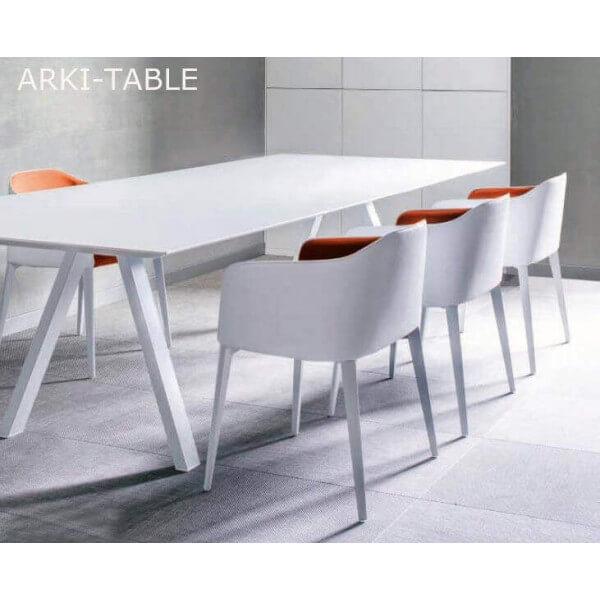 table repas design arki pedrali. Black Bedroom Furniture Sets. Home Design Ideas