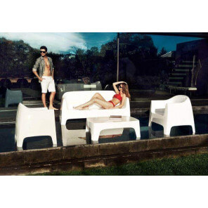 SOLID - Garden lounge set by Vondom