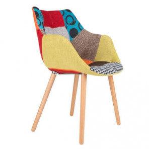 TWELVE - Fabric patchwork chair