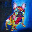 Tableau bleu BullDog