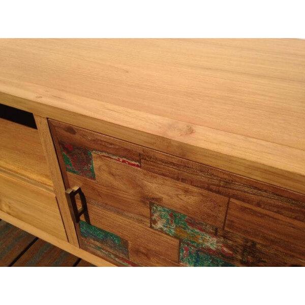 meuble tv bois design - Meuble Bois Design