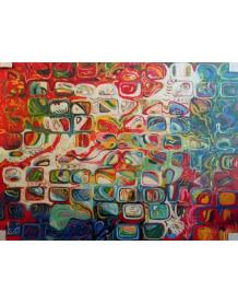Modern painting Mozaic