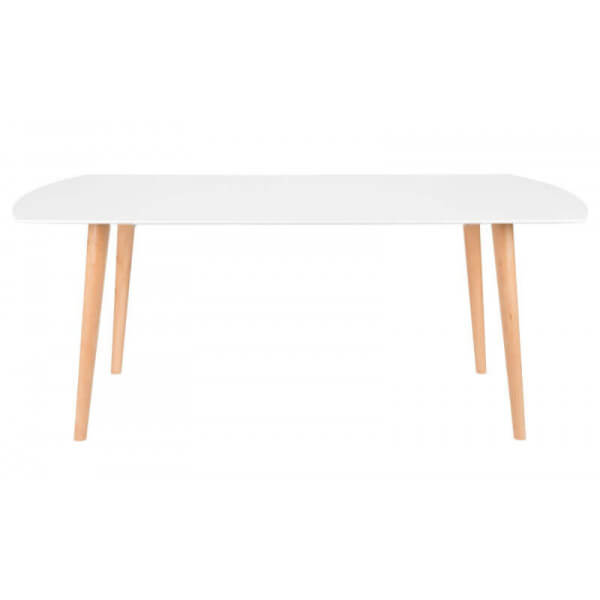 Table repas blanche Scandinave