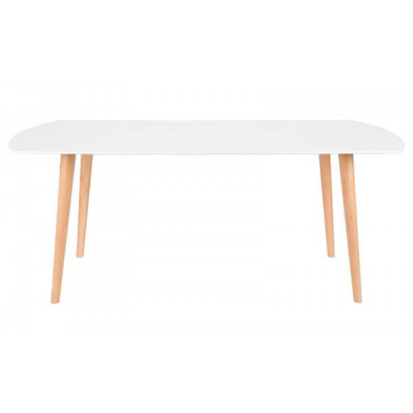 Table repas blanche Scandinave